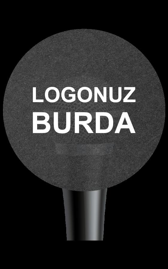 Yuvarlak-Mikrofon-Süngeri-1 logo baskılı